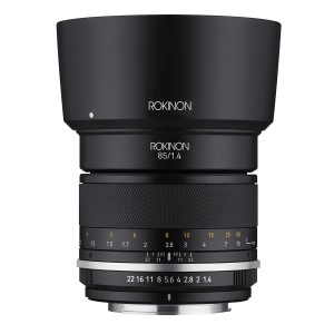 Объектив Rokinon 85mm f/1.4 Series II оценен в $400